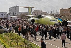 Новый самолет Ан-178 успешно прошел испытания по загрузке самоходной техники - Цензор.НЕТ 691