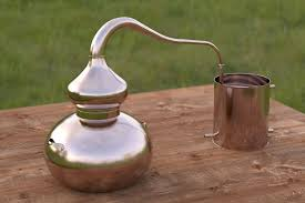 this is an example of a simple home distilling pot you can steam distill water