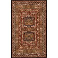 momeni persian garden black 5 ft x 8 ft indoor area rug