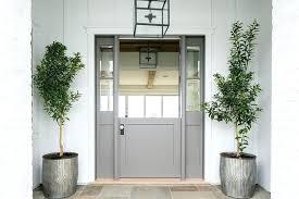 glass dutch door glass dutch door gray sidelights favored with therma tru fiberglass dutch door