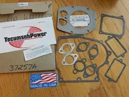 Snowblower Parts :: OEM Tecumseh engine gasket set 9-13HP OH318 ...