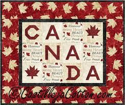 23 best Canada quilts images on Pinterest | Quilt block patterns ... & Canada Quilt Pattern Fabrics: www.northcott.net Stonehenge Oh Canada Adamdwight.com