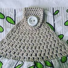Crochet Towel Topper Pattern Amazing Simple Towel Topper Has Been Designed For Those New To Crocheting