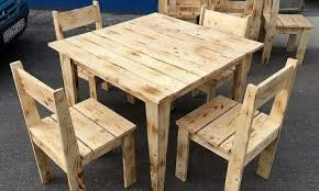 old pallet furniture. Simple Furniture Set Made With Pallets W.. Old Pallet