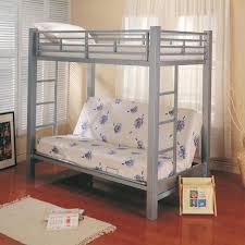 metal bunk bed futon. Coaster Bunks Twin Over Futon Bunk Bed With Mattress - Item Number: 7399+ Metal M