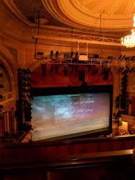 Ethel Barrymore Theatre Section Rear Mezzanine L Row B