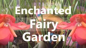 enchanted fairy garden panting planting diy kit