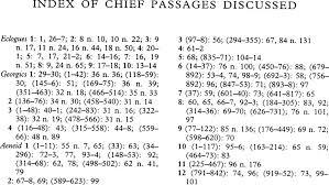 Index of Chief Passages Discussed | New Surveys in the Classics ...