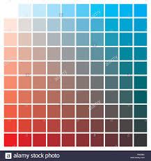 Red Color Chart Cmyk Color Chart To Use In Prepress And Printing Used To