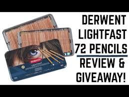 Derwent Procolour Lightfast Chart Derwent Lightfast 72 Coloured Pencils Review