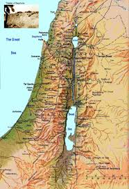 israel maps  printable maps of israel for download