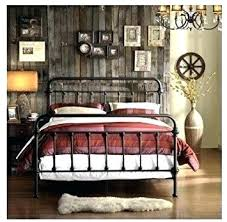Rustic Iron Beds Iron Bed Frames King Attractive Wrought Iron Beds ...
