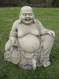 garden buddha statues. Large Jolly Buddha Garden Ornament Statue Koi Free Shipping Statues