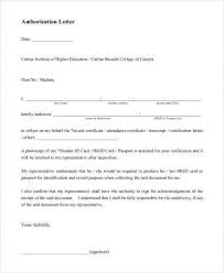48 Authorization Letter Examples Pdf Doc