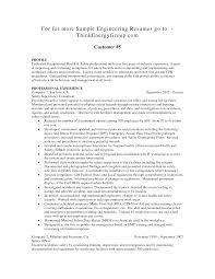 Resume Director Of Engineering Resume For Your Job Application