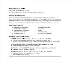 Resume Samples For Medical Assistant Medical Support Assistant Resume Examples Bunch Ideas Of Samples