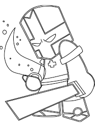 Castle Crashers Coloring Pages Free Printable Castle Crashers