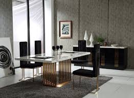 luxury dining room sets marble. Roswell Dining Table Set Luxury Room Sets Marble N