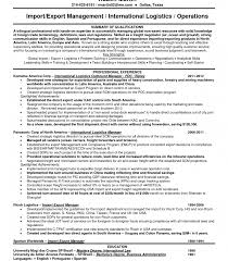 Logistics Manager Resume Template Supply Chain Examples Doc Photos ...