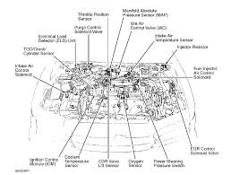 94 honda accord ex factory f22b1 v tech vacuum line schematic graphic
