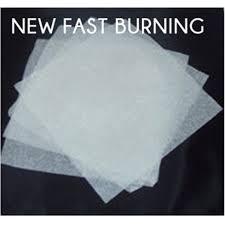 thin flash paper fast burning easy magic fast burning flash pap