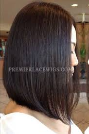 Long Bob Hairstyle 35 Amazing Trendy Long Bob Hairstyle Black Color Human Hair Lace Wigs