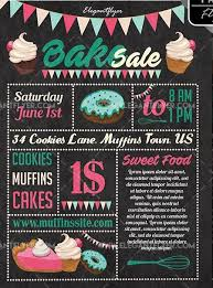 Bake Sale Free Psd Flyer Template Free Psd Flyer Templates