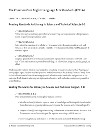 The Common Core English Language Arts Standards Ccela