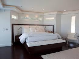 Modern Bedroom Bench Bedroom Master Bedroom Features Modern Blue Upholstered Platform