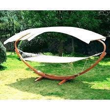 two person hammock with stand. Person Portable Hammock With Stand Wood Arc Stands Hammocks Canopy Outdoor For Two