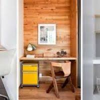 creating a small home office. small home office idea make use of a space and tuck your creating f