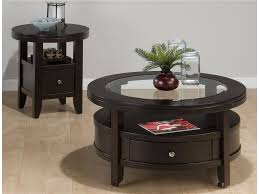 living room end tables with drawers. end tables designs : storage round table with drawer for living room jofran black stained glossy look glass top magazine shelves jar brown flower vase drawers w