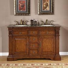 55 inch double vanity. Delighful Vanity Silkroad Exclusive 55inch Doublesink Cabinet Bathroom Vanity And 55 Inch Double H