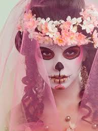 love this day of the dead bride makeup 20