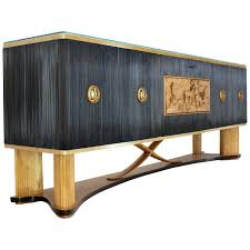 extra long sideboard.  Long Osvaldo Borsani Extra Long Sideboard Bar Cabinet Credenza Italian Modern  For Sale With D