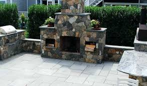 outdoor stone fireplace plans free 744 by size handphone