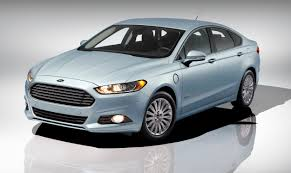 Ford Fusion Green Car Light Is Ford Fusion Energi 20 Mile Electric Car A Volt Competitor
