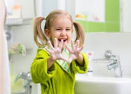 kids washing hands. Plain Hands Wash Your Hands After And Before A Meal With Kids Washing N