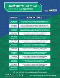 Auxílio Emergencial calendário de pagamentos - Amapá Online | Portal de  Notícias e Informação do Estado do Amapá