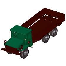 sheet metal dump truck model plan