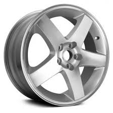 Dodge Charger Lug Pattern Stunning 48 Dodge Charger Replacement Factory Wheels Rims CARiD