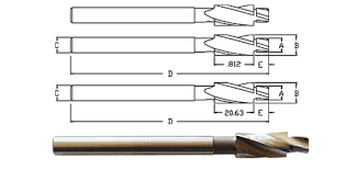 Counterbores And Countersinks
