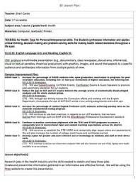 Lesson Plan Examples | Physical Education Lesson Plan Template ...