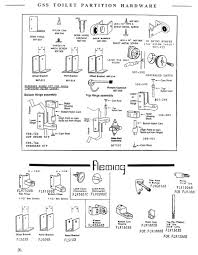 bathroom stall parts. Toilet Partition Hardware - GSS, Fleming Bathroom Stall Parts I