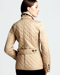 Fresh Burberry Copford Quilted Jacket Impressions   Quilts Ideas ... & Burberry Brit Copford Quilted Jacket in Beige New Chino Adamdwight.com