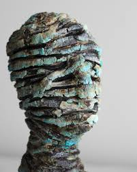 Rock Sculpture small sculpture penny michel 7995 by xevi.us