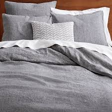 linen duvet cover shams