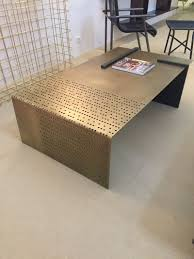 metal furniture. Copper Metal Art Coffee Table Furniture B