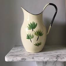 <b>Hand</b>-<b>painted Vintage</b> Enamelware Jugs – edit58