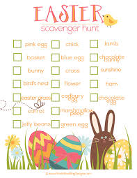 easter egg hunt template free easter egg hunt printables happy easter 2018